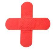 перекрестный красный цвет Стоковые Изображения RF