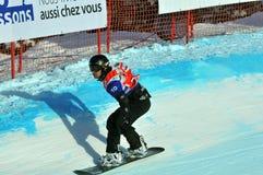 перекрестный мир snowboard чашки 2010 Стоковое Фото