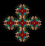 перекрестный символ Стоковые Фото
