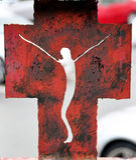 Перекрестный символ Стоковое Изображение RF