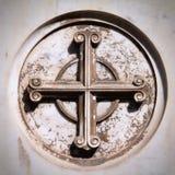 Перекрестный символ стоковая фотография rf