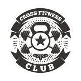 Перекрестный фитнес-клуб бесплатная иллюстрация