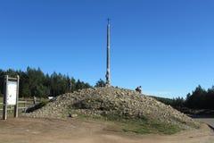 Перекрестный холм Стоковое фото RF