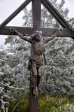перекрестный jesus Стоковые Фотографии RF