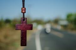 перекрестный jesus Стоковые Фото