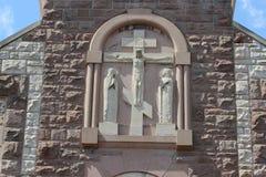 перекрестный jesus Стоковое Фото
