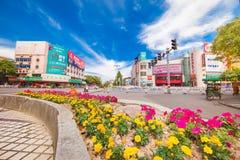 Перекресток Pinghu Китая Стоковая Фотография
