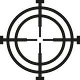 Перекрещение охотника перекрестия иллюстрация вектора