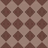 Перекрывая диагональ выравнивает предпосылку Текстура решетки бессвязная checkered Картина плана безшовная с геометрическим орнам Стоковое фото RF