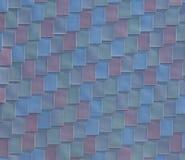Перекрывая покрашенная текстура плит Стоковые Фото