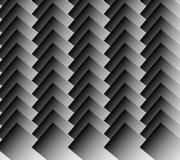 Перекрывая стоящие прямоугольники Monochrome картина/предпосылка иллюстрация вектора