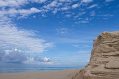 перекрынный песок Стоковое Изображение