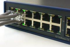 Переключите порты онлайн Стоковые Изображения RF