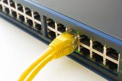 Переключите порты онлайн Стоковое Изображение RF