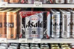 Переменные предложения пив в холодильнике Стоковые Изображения