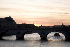 перемет реки paris Стоковая Фотография