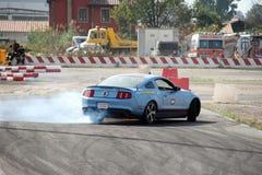 Перемещаться автомобиля Стоковая Фотография RF