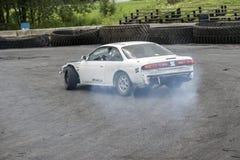 Перемещаться автомобиля Стоковые Изображения RF