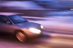 перемещать автомобиля Стоковое Изображение RF