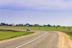 перемещать весеннего времени автомобиля Стоковое Изображение