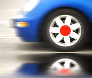 перемещать компакта автомобиля Стоковые Изображения RF