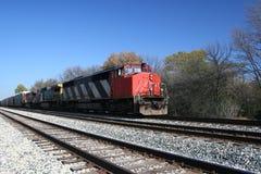 перемещать поезда Стоковые Фотографии RF