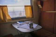 Перемещать поездом Стоковое фото RF