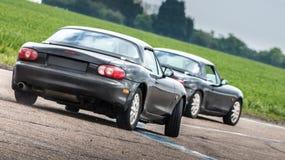 Перемещаясь автомобили Стоковая Фотография RF