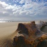 Перемещаясь песок стоковая фотография rf