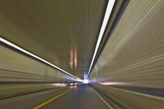 перемещая тоннель Стоковое фото RF