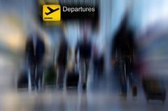 перемещение авиакомпании Стоковое Фото