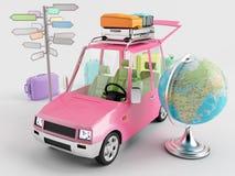 перемещение автомобиля Стоковые Изображения