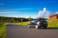перемещение автомобиля Стоковые Фотографии RF