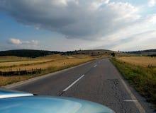 Перемещение автомобилем Стоковая Фотография