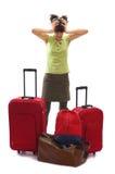перемещение багажей серии мешков Стоковые Фото