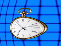 перемещение времени Стоковое Изображение RF