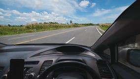 Перемещение в автомобиле, элемент дизайна, автомобиль внутри состава, концепция и идея стоковое фото