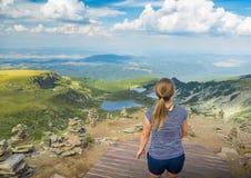 Перемещение в горах Болгарии Стоковое фото RF