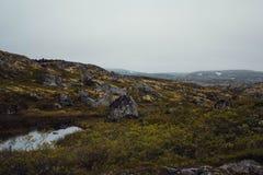 Перемещение в горах Стоковое фото RF