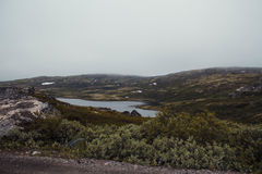 Перемещение в горах Стоковое Фото