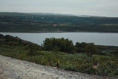 Перемещение в горах Стоковые Фото