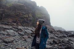 Перемещение в горах Стоковые Изображения