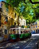 Перемещение в Лиссабоне Стоковая Фотография RF