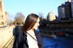 Перемещение в Париже Стоковые Изображения RF