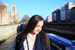 Перемещение в Париже Стоковые Фото