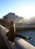 Перемещение в Париже Стоковое Изображение RF