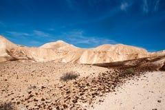 Перемещение в пустыня Негев, Израиле Стоковая Фотография