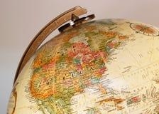 перемещение глобуса Стоковое Изображение RF