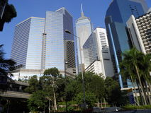 Перемещение Гонконга, большое отключение к Азии и фарфор Стоковые Фотографии RF