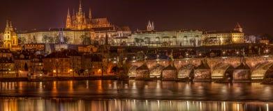 перемещение горизонта европы старое prague Стоковое Изображение